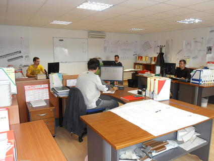 acs production in house design and engineering office