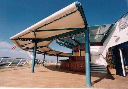 Textile Canopy on Outdoor restaurants/bars & Outdoor bars and restaurants ACS Production specialist of ...